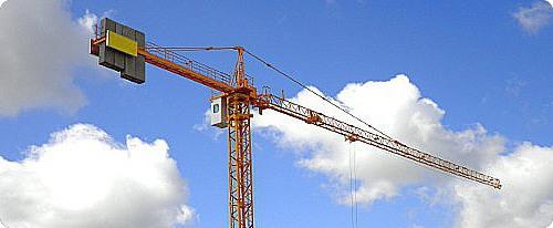 Grua de construcción